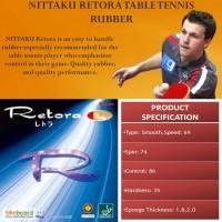 Накладка для тенісної ракетки Nittaku Retora