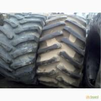Б/у шина передняя 650/75R32, и задняя 15.5.80-24