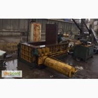 Пресс для металлолома китайский