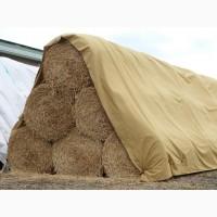 Агроволокно SUBTEX - служит для накрытия щепы, веток деревьев, тюков соломы, сена, люцерны