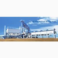 Мобильный Асфальтобетонный Завод Sinosun MAP 1000 (80 т/час)
