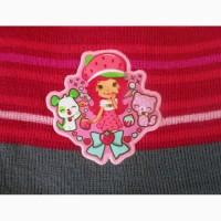 Комплект набор шапка и перчатки, 4-8лет, два цвета - НОВЫЕ