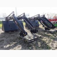 Фронтальний навантажувач на МТЗ трактор фірми Beromet