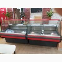 Холодильная витрина JBG MZ-1.25 длинной 1.3 метра (новая со склада)