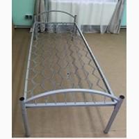 Кровать металлическая 190х90, спинка метал