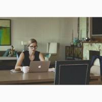 Работа для женщин в декрете, за компьютером, не выходите из дома