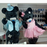 Ростовые куклы Мишки Тедди. Пошив под заказ