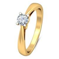 Кольцо с бриллиантом от Diamond Art