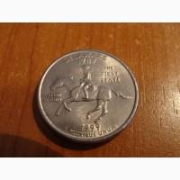25 центов США. Штаты Америки