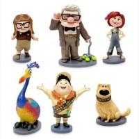 Доска объявлений › Игрушки › Герои мультфильмов и кино Набор фигурок из м/ф Вверх Disney 6