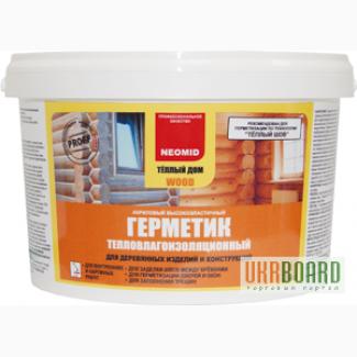 Продам/купить: герметик для дерева NEOMID ТЕПЛЫЙ ДОМ Wood, Киевская обл - Ukrboard