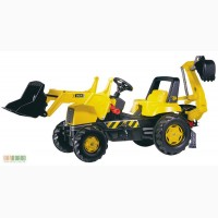 Трактор на педалях Rolly Toys JCB Backhoe-Loader