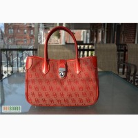 Сумка Dooney and Bourke Double Handle Tote Б/У, оригинал