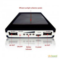 Сонячний зарядний пристрій POWER BANK SOLAR 15000ma