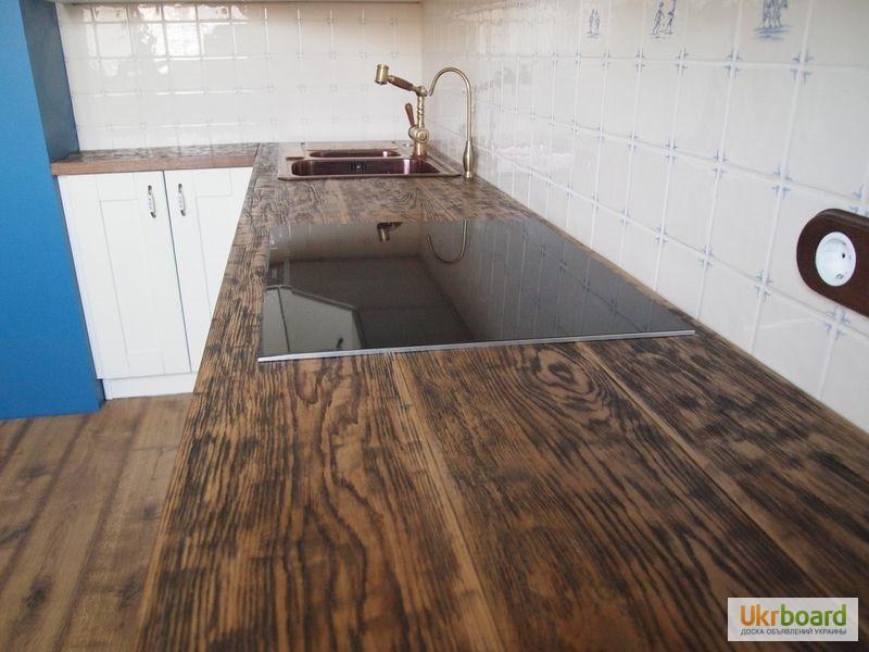 Фото к объявлению: столешницы из дуба для кухни - ukrboard.k.