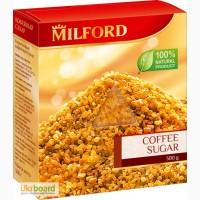 Милфорд сахар коричневый кофейный 300 гр