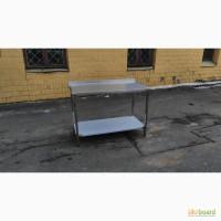 Столы из нержавеющей стали для кухонь. Производственные