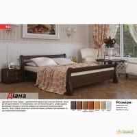 Деревянная кровать Диана