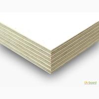 Ламинированная влагостойкая фанера ФСФ белого цвета 6.5 мм, 9, 5 мм, 18 мм, 21 мм