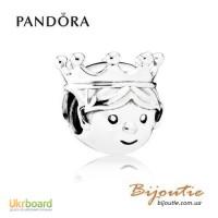 Оригинал PANDORA шарм маленький принц 791736CZ