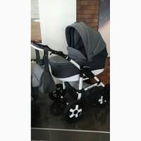 Новая детская коляска 2 в 1 SATURN LР на белой раме!Пластиковая люлька