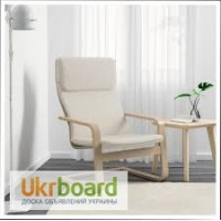 Удобное новое кресло икеа Пелло