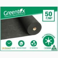 Агроволокно Greentex черное мульчирующее плотностью 50г/м2