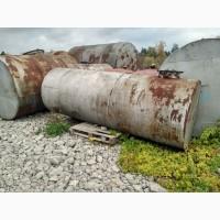 Ёмкости, резервуары, цистерны, бочки металлические любые от 1 до 100м3