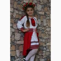 Вишитий український костюм для дівчинки Стильна україночка