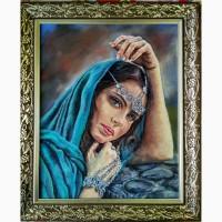 Картина автораПринцесса Амира-пастель-50х40