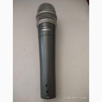 Инструментальные микрофоны SHURE BETA57A (оригинал) и Shure BG 4.1