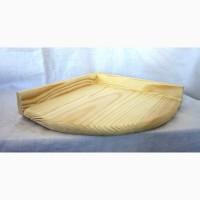 Полка угловая деревянная