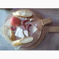 Поднос деревянный, доска под подачу, салфетница, менюхолдер