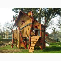 Детские площадки горки качели
