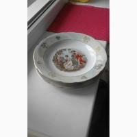 Супница и 6 тарелок из сервиза Мадонна КАХЛА