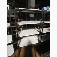 Стелаж нержавіючий кухонний новий за ціною б/у