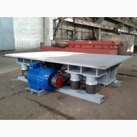 Вибротумба ВТ-5 для утряски бетона в металлоформах