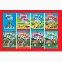 Продам Family and Friends starter 1, 2 3 4 5 6 7 8 новые комплекты