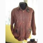 Кожаная мужская фирменная куртка MORENA. Германия. Лот 484