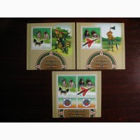 Красивые марки фауна, скауты Конго