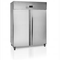 Морозильный шкаф двух дверный в нержавейке Tefcold RF1420-P