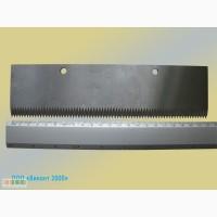 Нож прямой зубчатый для Flow-pack 220х59х2, 5 мм