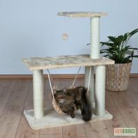 Когтеточки. Trixie Morella Многоуровневая когтеточка для кошек с гамаком