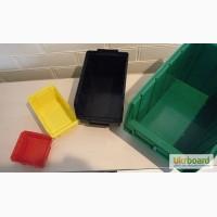 Пластиковые ящики для инструментов кюветы, ящики на стеллаж plastbox com ua Николаев