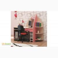 Компьютерный стол+ПК подставка Флора embawood