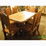 Стол кухонный деревянный, Стол Квадрат под старину