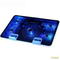 Подставка под ноутбук с 5 кулерами Cooling Pad m8