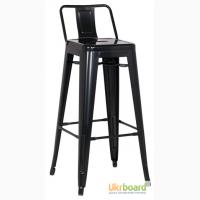 Высокий барный стул Толикс (Tolix), H-76см с низкой спинкой для кафе, бара, ресторана Киев