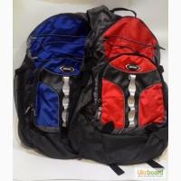 Спортивный рюкзак Huasion +провод мр3+дождевик синий, красный