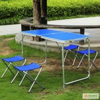 Набор для пикника Welfull-FTS1-4, раскладная туристическая мебель